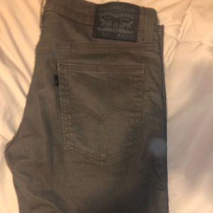 Levi's Olive Green Pants 511